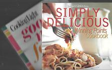 2 Cook Books:Good Mood Food (Cooking Light) & Simply Delicious (Weight Watchers)