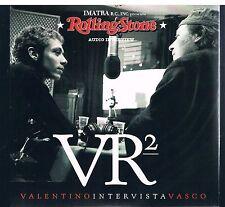 VR2 VALENTINO INTERVISTA VASCO SAMPLER ROLLING STONES CD SINGOLO SINGLE cds