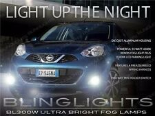 Xenon Halogen Fog Lamps Driving Lights Kit for 2014-2016 Nissan March K13c