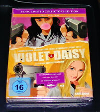 VIOLET & DAISY 2 DISC LIMITED COLLECTOR´S EDITION BLU RAY + DVD NEU & OVP