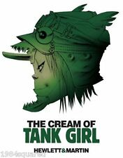Cream of Tank Girl Hardcover Deluxe Art Book Jamie Hewlett Alan Martin New HC NM