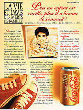 PUBLICITE ADVERTISING 035  1994  COCA-COLA  soda sans cafeine