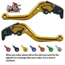Aprilia FALCO SL1000 2000 - 2004 Short Adjustable Brake Clutch CNC Levers Gold