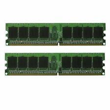 NEW! 4GB DDR2 PC5300 PC2-5300 667 Mhz LOW DENSITY Desktop Memory 2x 2GB RAM