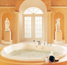 NEPTUNE CL76S CLEOPATRA 76x76 ACRYLIC ROUND BATHTUB SOAKER (NO WHIRLPOOL)