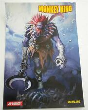 New  MONKEY KING  JR Comics  Promotional  Poster   Sha Wu Jing
