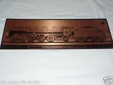 Schnellzuglokomotive BR 03 Bakelit Schild Alte Werbung Deutsche Reichsbahn