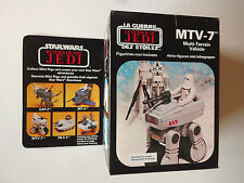 VINTAGE STAR WARS CLIPPER/MECCANO 1983 ROTJ MTV-7 MULTI TERRAIN VEHICLE MISB RAR