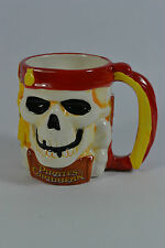 Pirates of the Caribbean Disney 3D Skull mug /cup.