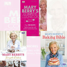 Mary Berry Collection 3 Books Mary Berry's Complete Cookbook,Mary Berry's Baking