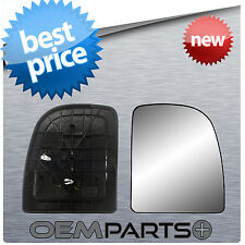 NEW PASSENGER'S SIDE MIRROR REPLACEMENT GLASS BACKING MOUNT FORD E F 150 250 350