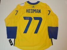 VICTOR HEDMAN SIGNED 2016 TEAM SWEDEN WORLD CUP OF HOCKEY JERSEY JSA COA
