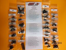 1988 FORD MUSTANG CONVERTIBLE LX GT INTERIOR SCREW KIT 116pcs