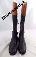 Lauren Ralph Lauren Berna Burnished Boots  8B $279.00 Black/Brown