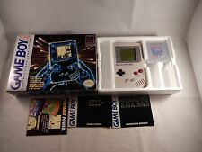 Original Nintendo Game Boy DMG-01 Handheld System (COMPLETE IN BOX, CIB) #S187