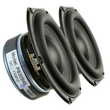 "Pair Peerless 830946 6.5"" Paper Cone Woofer Speaker 4 ohm 150W 82 dB 1.50"" Coil"