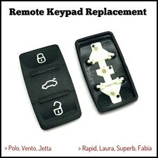 Replacement Remote Keypad fit for Volkswagen/Skoda 3 button remote key