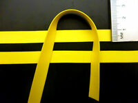 Latex Rubber Trim Strips .50mm Thick, 10mm x200cm,Yellow