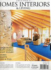 IRELAND'S HOMES INTERIORS & LIVING MAGAZINE OCTOBER 2002