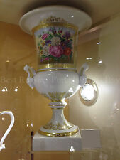 EXCLUSIVE Russian Imperial Lomonosov Porcelain Vase Gold Flower Very Rare