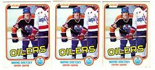 1X WAYNE GRETZKY 1981-82 OPC #106 EXNM O Pee Chee Oilers Kings Lots Available