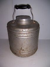 VINTAGE METAL CERAMIC LINED HOT COLD WATER COOLER  SOUP CONTAINER