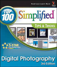 EX-LIBRARY Digital Photography (Top 100 Simplified Tips & Tricks) Sheppard, Rob