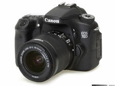 Canon EOS 70D 20.2 MP Digital SLR Camera - Black (Kit w/ EF-S IS STM 18-135mm...
