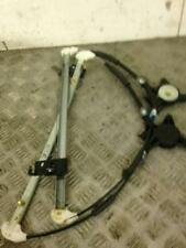 2006 5 PORTE PORTELLONE MAZDA 3 2.0 Benzina conducente e passeggero rear window regulator