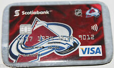Colorado Avalanche Scotiabank Canada Visa Promotional Pin Magnet Attachment