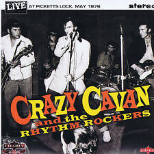 "CRAZY CAVAN - LIVE AT PICKETTS LOCK (2 x 10"" VINYL LPs Double-Pack) ROCKABILLY"