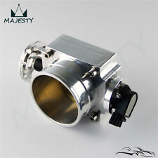 Reverse 90mm Throttle Body With TPS Sensor For  Toyota Supra 1JZ / 2JZ Silver