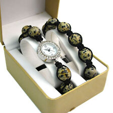 ECHO' Beautiful Semi-precious Shamballa Style Watch and Bracelet Set no.2