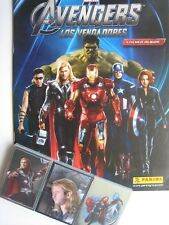Panini The Avengers Marvel Complete 168 Stickers Collection + Album
