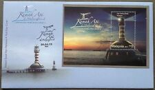 M'sia Ms-FDC  Lighthouses series II 30.4.2013