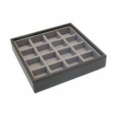 Stackers by LC Designs Mink Charm Stacker Jewellery Tray-Small Sections