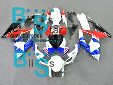 Whtie Red GSXR600 Fairing For SUZUKI GSX-R600 GSX-R750 2006-2007 88 B3