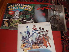LOT OF 3 VINTAGE FUNK RECORD ALBUMS ALL IN GOOD + TO VERY GOOD ++ CONDITION