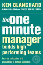 The One Minute Manager Builds High Performing..., Parisi-Carew, Eunice Paperback
