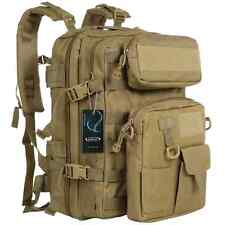 G4Free Tactical Assault Backpack Waterproof Army Molle Backpack Bug Out Bag Mili