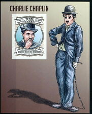 BURUNDI 2013 MNH Imperf SS, Charlie Chaplin, Actor, Comedian - H7