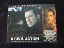 A CIVIL ACTION lobby cards JOHN TRAVOLTA, ROBERT DUVALL