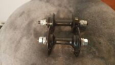 OLD SCHOOL BMX BLACK 36 HOLE SR HUBS DATED 1983 MONGOOSE GT JMC CW REDLINE VDC