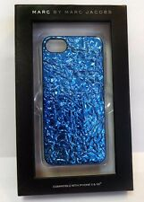 MARC by Marc Jacobs Blue Foil iPhone 5/5S Cover Case Msrp $38.00 *NEW IN BOX