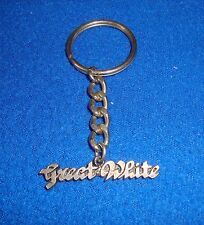 1980's Rock Keychain Great White New