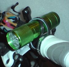 LED-FAHRRAD-BELEUCHTUNG - 9x LED´s - SCHEINWERFER - SEHR HELL - in 4 FARBEN- NEU