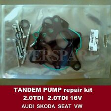 Fuel vacuum tandem pump repair kit Audi VW Skoda Seat 2.0TDI 136 140 143 170hp
