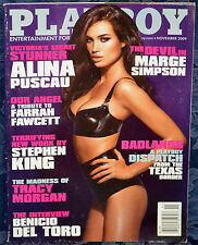 "Magazine PLAYBOY November 2009 ""ALINA PUSCAU"" ""KELLEY THOMPSON-CENTERFOLD"""