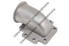 """CX T6 Turbo to 3"""" V-Band 304 Stainless Steel 90 Degree Elbow Adapter Flange"""