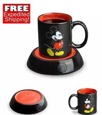 Hot Soup Tea Mug Warmer Coffee Cup Mickey Mouse Disney Lunch Break Office Home